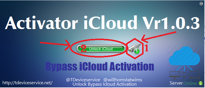 tdeviceservice activator 2015 icloud