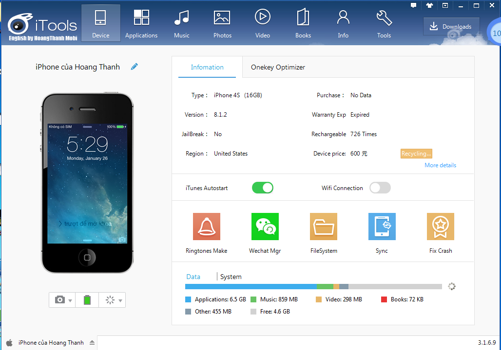 Itools iphone manager 2017 download